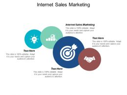 Internet Sales Marketing Ppt Powerpoint Presentation Portfolio Designs Cpb
