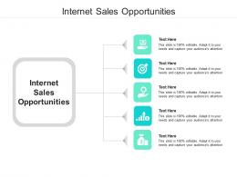 Internet Sales Opportunities Ppt Powerpoint Presentation Outline Grid Cpb