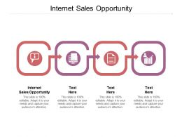 Internet Sales Opportunity Ppt Powerpoint Presentation Gallery Visuals Cpb