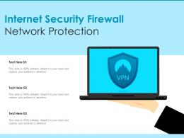 Internet Security Firewall Network Protection
