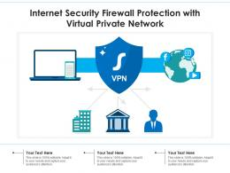 Internet Security Firewall Protection With Virtual Private Network
