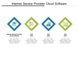 Internet Service Provider Cloud Software Ppt Powerpoint Presentation Outline Vector Cpb