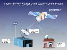 Internet Service Provider Using Satellite Communication