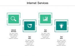 Internet Services Ppt Powerpoint Presentation Portfolio Example Cpb