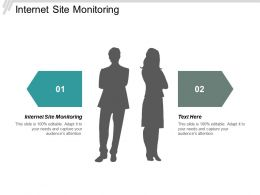 Internet Site Monitoring Ppt Powerpoint Presentation Styles Shapes Cpb