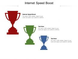 Internet Speed Boost Ppt Powerpoint Presentation Pictures Visual Aids Cpb