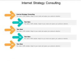 Internet Strategy Consulting Ppt Powerpoint Presentation Pictures Show Cpb