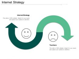 Internet Strategy Ppt Powerpoint Presentation Gallery Brochure Cpb