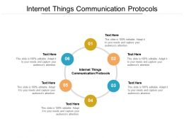 Internet Things Communication Protocols Ppt Powerpoint Presentation File Cpb