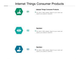 Internet Things Consumer Products Ppt Powerpoint Presentation Infographic Template Slides Cpb