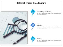 Internet Things Data Capture Ppt Powerpoint Presentation Show Vector Cpb