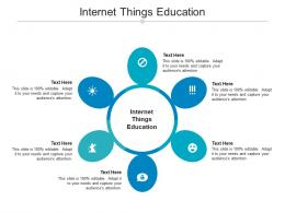 Internet Things Education Ppt Powerpoint Presentation Outline Inspiration Cpb