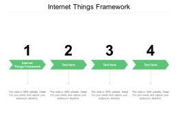 Internet Things Framework Ppt Powerpoint Presentation Summary Slideshow Cpb