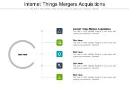 Internet Things Mergers Acquisitions Ppt Powerpoint Presentation Infographic Template Picture Cpb