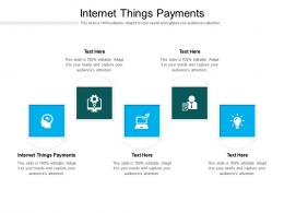 Internet Things Payments Ppt Powerpoint Presentation Ideas Gridlines Cpb