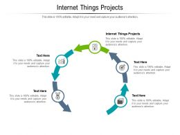 Internet Things Projects Ppt Powerpoint Presentation Gallery Shapes Cpb