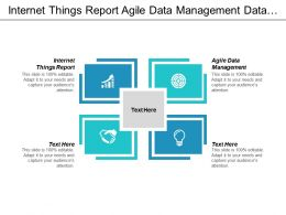 Internet Things Report Agile Data Management Data Marketing Cpb