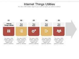 Internet Things Utilities Ppt Powerpoint Presentation Layouts Influencers Cpb