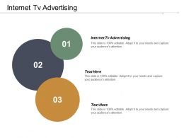 Internet Tv Advertising Ppt Powerpoint Presentation Infographic Template Slides Cpb