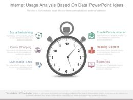 Internet Usage Analysis Based On Data Powerpoint Ideas
