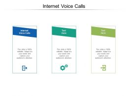 Internet Voice Calls Ppt Powerpoint Presentation Outline Graphic Images Cpb