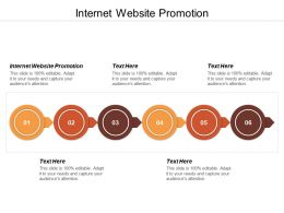 Internet Website Promotion Ppt Powerpoint Presentation Icon Influencers Cpb