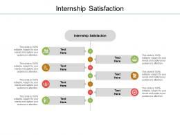 Internship Satisfaction Ppt Powerpoint Presentation Summary Graphics Download Cpb