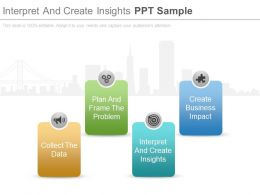 Interpret And Create Insights Ppt Sample