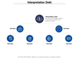 Interpretation Debt Ppt Powerpoint Presentation Pictures Inspiration Cpb