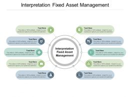 Interpretation Fixed Asset Management Ppt Powerpoint Presentation Gallery Picture Cpb