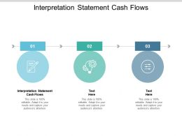 Interpretation Statement Cash Flows Ppt Powerpoint Presentation File Example Introduction Cpb