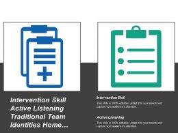 Intervention Skill Active Listening Traditional Team Identities Home Team