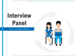 Interview Panel Management Candidate Illustrating Strategy Representing