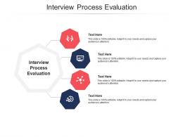 Interview Process Evaluation Ppt Powerpoint Presentation Professional Ideas Cpb