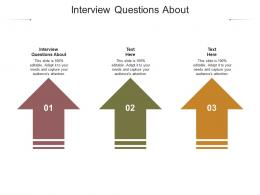 Interview Questions About Ppt Powerpoint Presentation Summary Icon Cpb