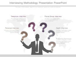 Interviewing Methodology Presentation Powerpoint