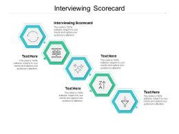Interviewing Scorecard Ppt Powerpoint Presentation Portfolio Inspiration Cpb