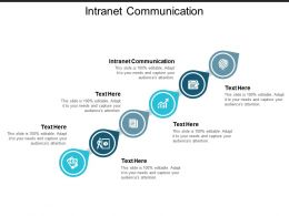 Intranet Communication Ppt Powerpoint Presentation Infographics Example Topics Cpb