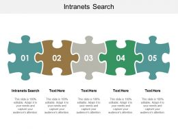 Intranets Search Ppt Powerpoint Presentation File Objects Cpb