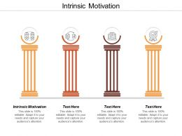 Intrinsic Motivation Ppt Powerpoint Presentation File Formats Cpb