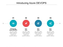Introducing Azure DEVOPS Ppt Powerpoint Presentation Pictures Mockup Cpb