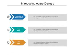 Introducing Azure Devops Ppt Powerpoint Presentation Styles Portfolio Cpb