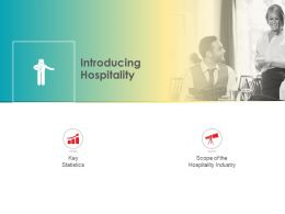 Introducing Hospitality M2526 Ppt Powerpoint Presentation Layouts Smartart