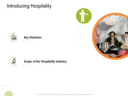 Introducing Hospitality Strategy For Hospitality Management Ppt Professional Objects