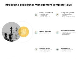 Introducing Leadership Management Development Ppt Powerpoint Guidelines