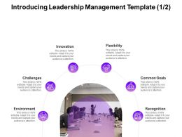 Introducing Leadership Management Innovation Ppt Powerpoint Presentation Ideas