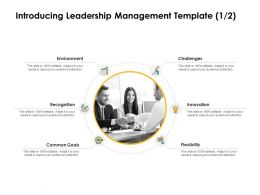 Introducing Leadership Management Innovation Ppt Powerpoint Slides Mockup