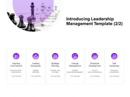 Introducing Leadership Management Planning Ppt Powerpoint Presentation Infographic