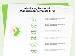 Introducing Leadership Management Template Common Goals Ppt Design Ideas