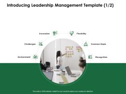 Introducing Leadership Management Template Innovation Ppt Powerpoint Information